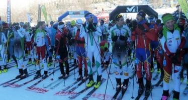 Campeonato de España de esquí de montaña, Cronoescalada y Sprint en Cerler
