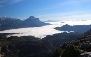 Belén Montañero en el Pico Bramapán