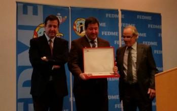 Reconocimiento de la FEDME a José Masgrau