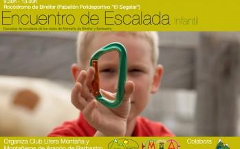 Encuentro de escalada infantil: Club Litera Montaña, Montañeros de Aragón Barbastro