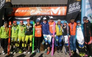 Oriol Cardona y Claudia Galicia Campeones de España de Sprint en el Gran Premio Millet de Cerler
