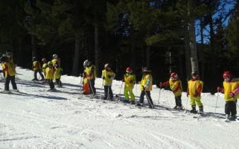 Actividades de esquí 2017