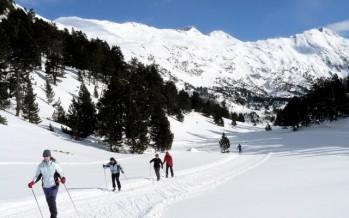 Curso de esquí nórdico en Los Llanos del Hospital de Benasque