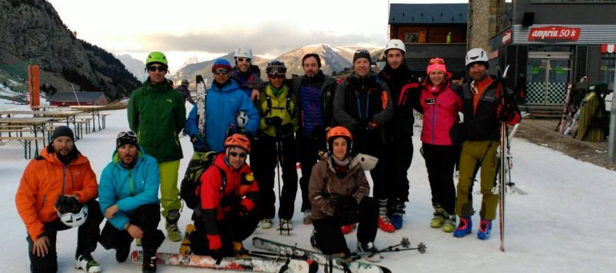 Comienza el curso de esquí de montaña en el valle de Benasque