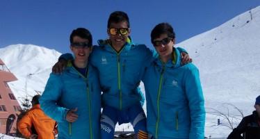 Arnau Figueres campeón de Aragón cadete de esquí de montaña en cronoescalada