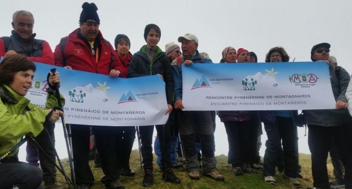 Encuentro montañero con el CAF de Tarbes en el entorno de Bagnères de Luchon