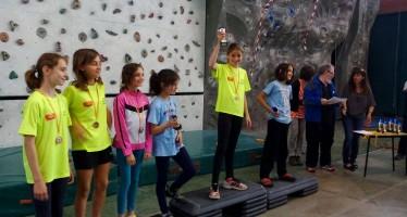 Excelente actuación de los jóvenes escaladores del Club en el provincial de Escalada