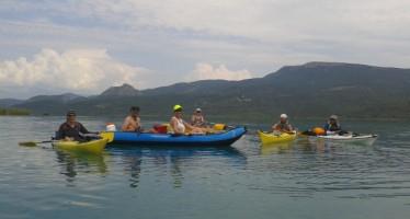Promocional de Kayak por los embalses de El Grado y Mediano