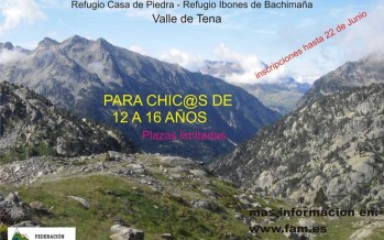 II Travesía FAM de iniciación a la alta montaña para jóvenes