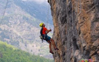 La Escuela infantil de escalada despide el curso en Eriste