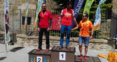 Representación del Club en la Ultratrail de Jaca. Campeonato de Aragón de carreras por montaña