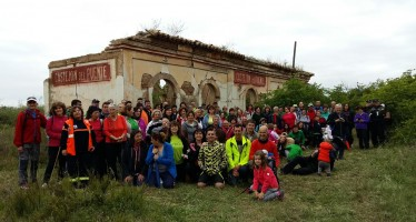 Marcha reivindicativa de la Vía Verde Barbastro-Selgua