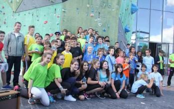 Campeonato de Aragón de escalada y despedida del curso