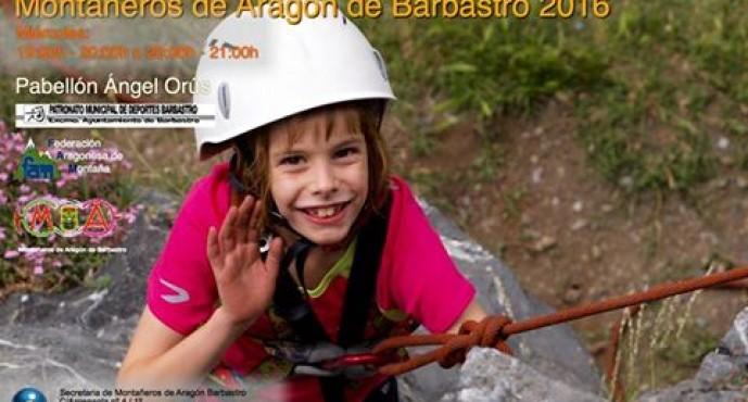 Escalada infantil, curso 2016-2017