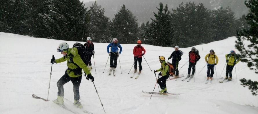 Comienza el curso de esquí de montaña
