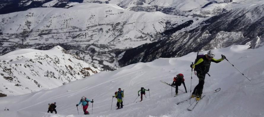 Cap de Laubère (2.213m), desde Ens