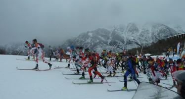 Oriol Cardona y Laura Orgué reyes de las verticales en esquí de montaña