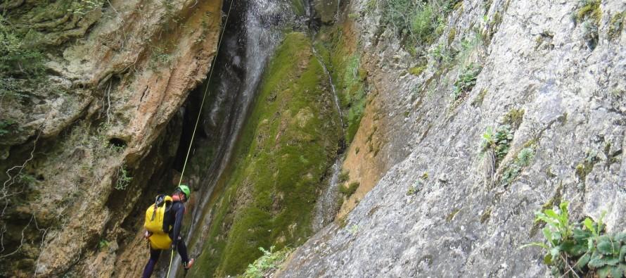 Salida promocional de barranquismo: Barranco de Moliniello