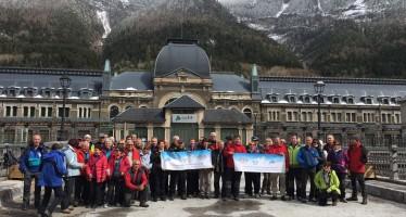 XX Encuentro de hermanamiento entre el CAF de Tarbes y Montañeros de Aragón de Barbastro