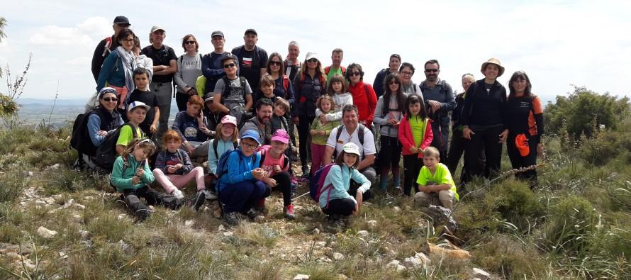 Senderismo infantil y descubrimiento de la naturaleza en El Pueyo de Barbastro