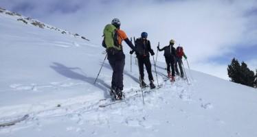 Buen comienzo del curso de esquí de montaña
