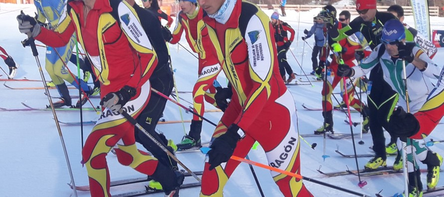 Calendario de competición de esquí de montaña en Aragón