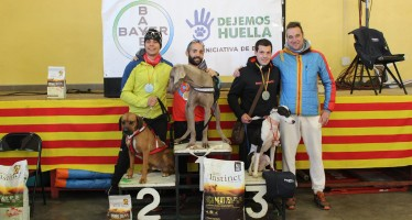 Campeones de Aragón de canicross