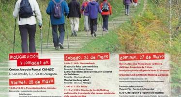 1as Jornadas de Marcha nórdica en Aragón