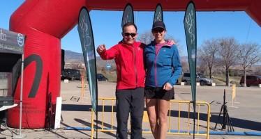Montañeros-CAB Barbastro en la II Trail Hoya de Huesca