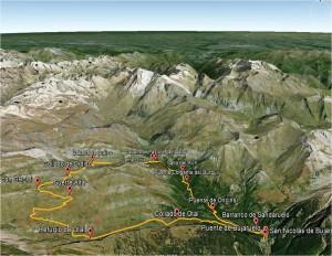 143 Bujaruelo-Ordiso-Otal. Mapa 3D