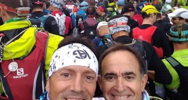 Fernando Latorre y Alejandro Castarlenas en la Grand Raid des Cathares