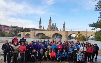 Ruta de las Riberas del Ebro con marcha nórdica