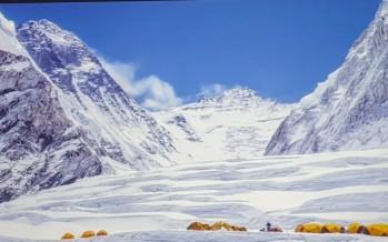 Jornadas montañeras: Chomolungma, «La madre del Universo», Javier Camacho