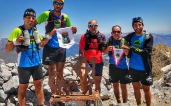 #Reto3355 conseguido: cinco corredores coronan el Monte Perdido tras recorrer más de cien kilómetros
