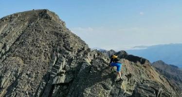 Ascensión a la punta del Sabre 3.136 m y Gran Bachimala 3.174 m