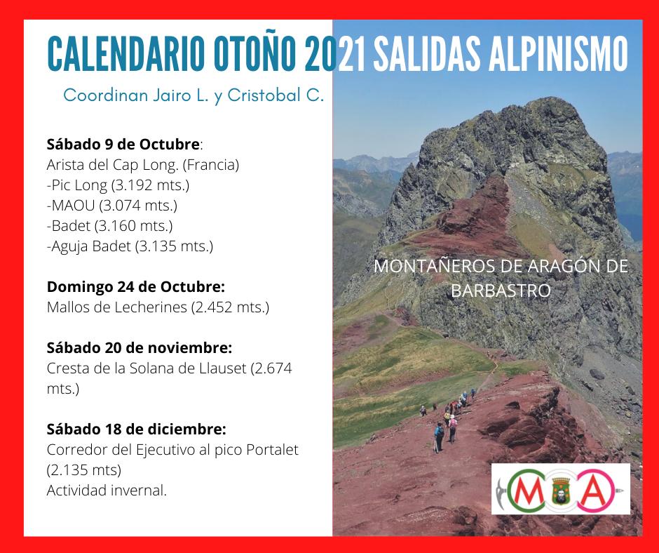 Alpinismo Otoño2021